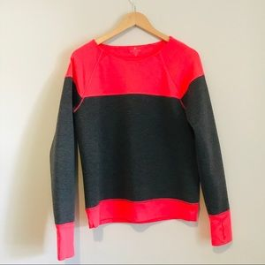 ATHLETA | Two-tone Fuse Sweatshirt Size M